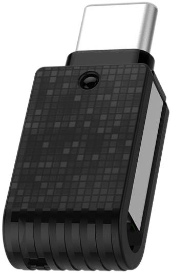 Внешний накопитель 32GB USB Drive  Qumo Hybrid 2 c поддержкой OTG через USB Type-C и РС через USB. (QM32GUD3-Hyb2) внешний накопитель 32gb usb drive usb 2 0 leef ice white прозрачный с мягкой подсветкой