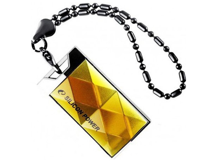 Внешний накопитель 64GB USB Drive  Silicon Power Touch 850 SP064GBUF2850V1A желтый zhiyusun new 10 4 inch touch screen 4 wire resistive usb touch panel overlay kit free shipping 225 173