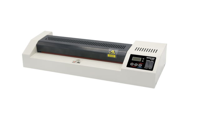 Ламинатор Office Kit L3350 A3 пленка 60-250мкм, 60см/мин, 4 вала, холодн.лам., лам.фото, реверс, метал.корпус, цифровая регулировка
