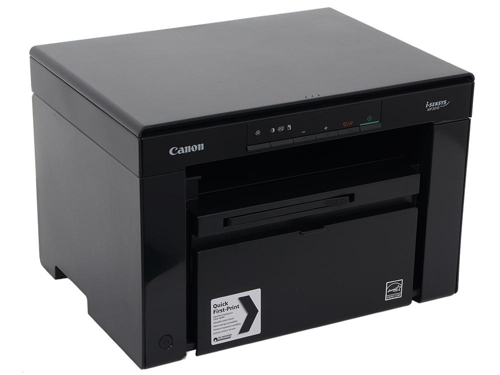 МФУ Canon I-SENSYS MF3010 (копир-принтер-сканер, A4) принтер canon i sensys lbp253x ч б a4 33ppm 1200х1200dpii ethernet wifi usb 0281c001