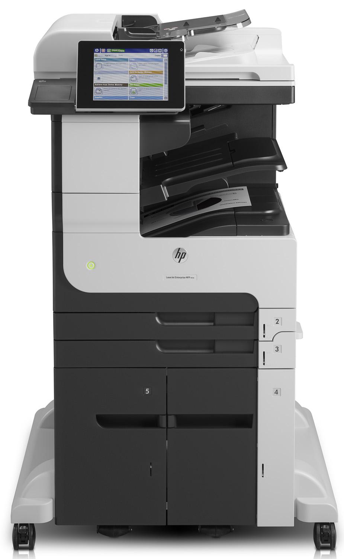 МФУ HP LaserJet Ent.700 M725z+ пр/ск/коп/факс/степлер/почта,A3, 41стр/мин, дуплекс,1Гб,HDD 320Гб,USB,LAN(зам.Q7830A M5035x, Q7831A
