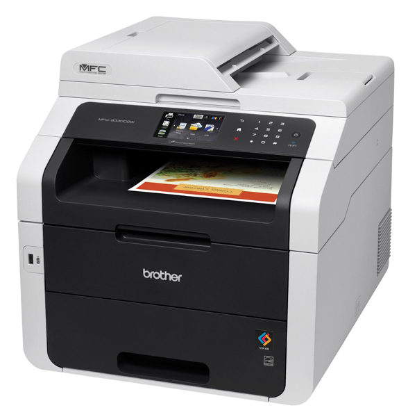 МФУ цветное светодиодное Brother MFC-9330CDW принтер/ сканер/ копир/ факс, A4, 22стр/мин, дуплекс, ADF, 192Мб, USB, LAN, WiFi brother hq 12