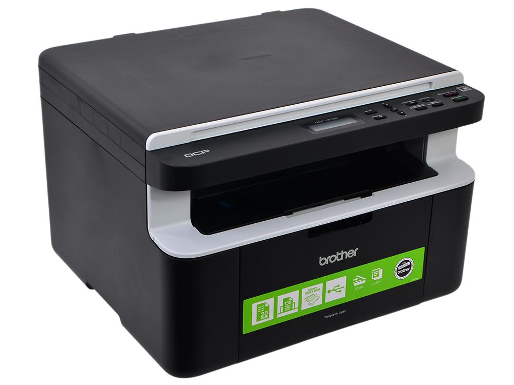 МФУ лазерное Brother DCP-1512R, принтер/сканер/копир, A4, 20стр/мин, USB мфу лазерное brother dcp 1510r