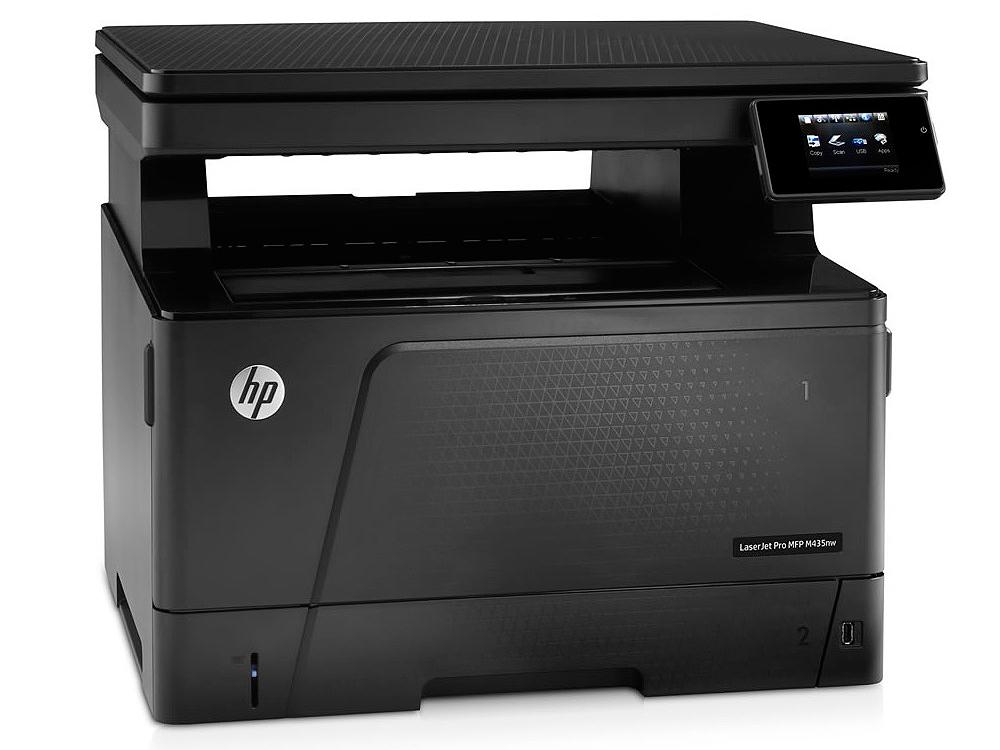 МФУ HP LaserJet Pro M435nw принтер/сканер/копир, A3, 30стр/мин, 256Мб, USB, Ethernet, WiFi