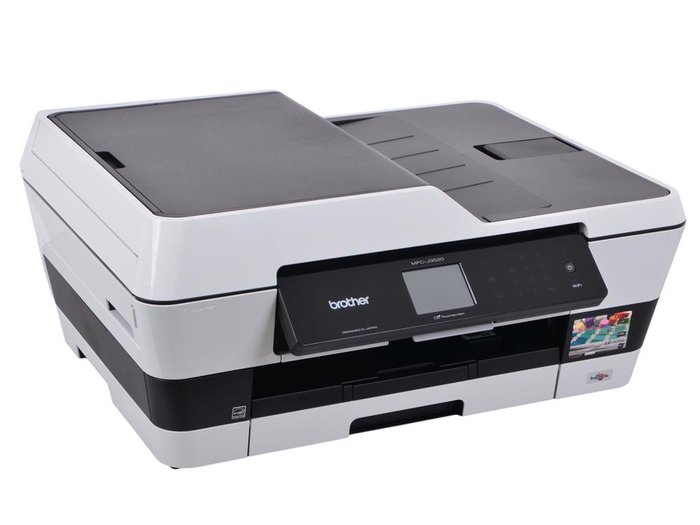 МФУ струйное Brother MFC-J3520 принтер/сканер/копир/факс, A3, 22/20 стр/мин, дуплекс, ADF A3, USB, LAN, WiFi от OLDI