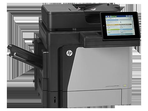 МФУ HP LaserJet Enterprise M630h принтер/ сканер/ копир/ эл.почта, A4, 57 стр/мин, дуплекс, 1.5Гб, HDD 320Гб, USB, LAN (замена CE738A