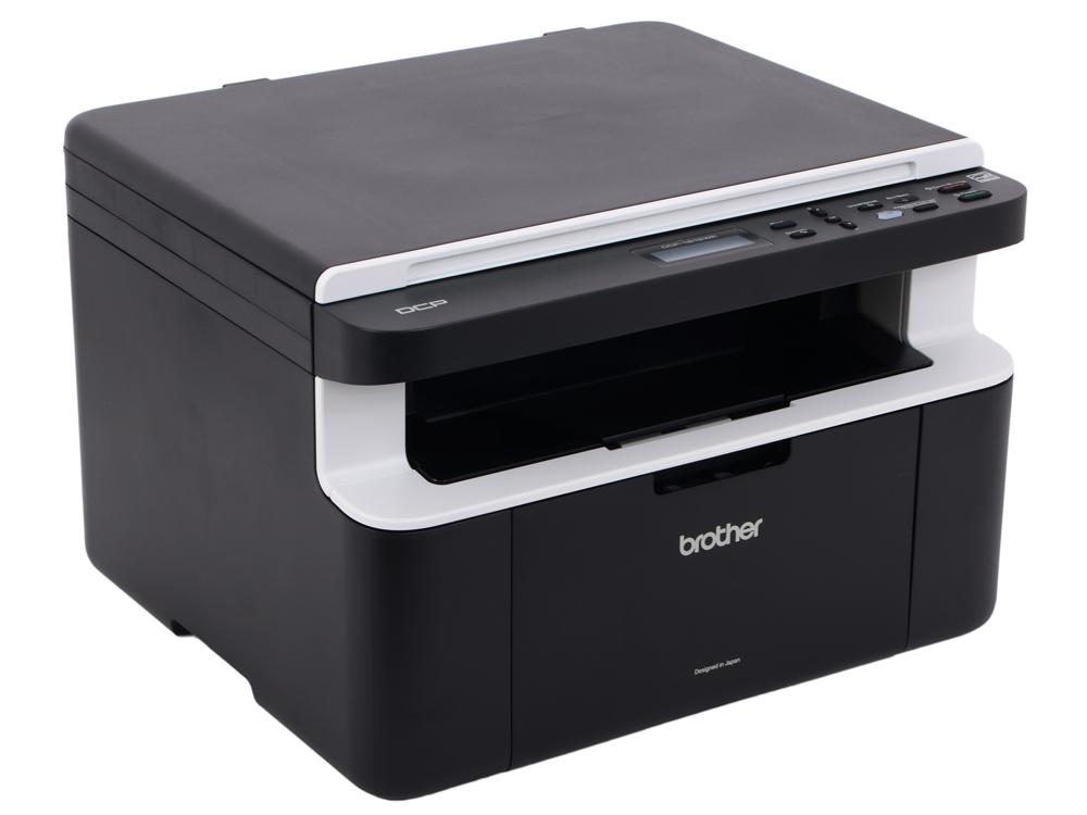 МФУ лазерное Brother DCP-1612WR, принтер/сканер/копир, A4, 20стр/мин, USB, WiFi мфу лазерное brother dcp 1610wr