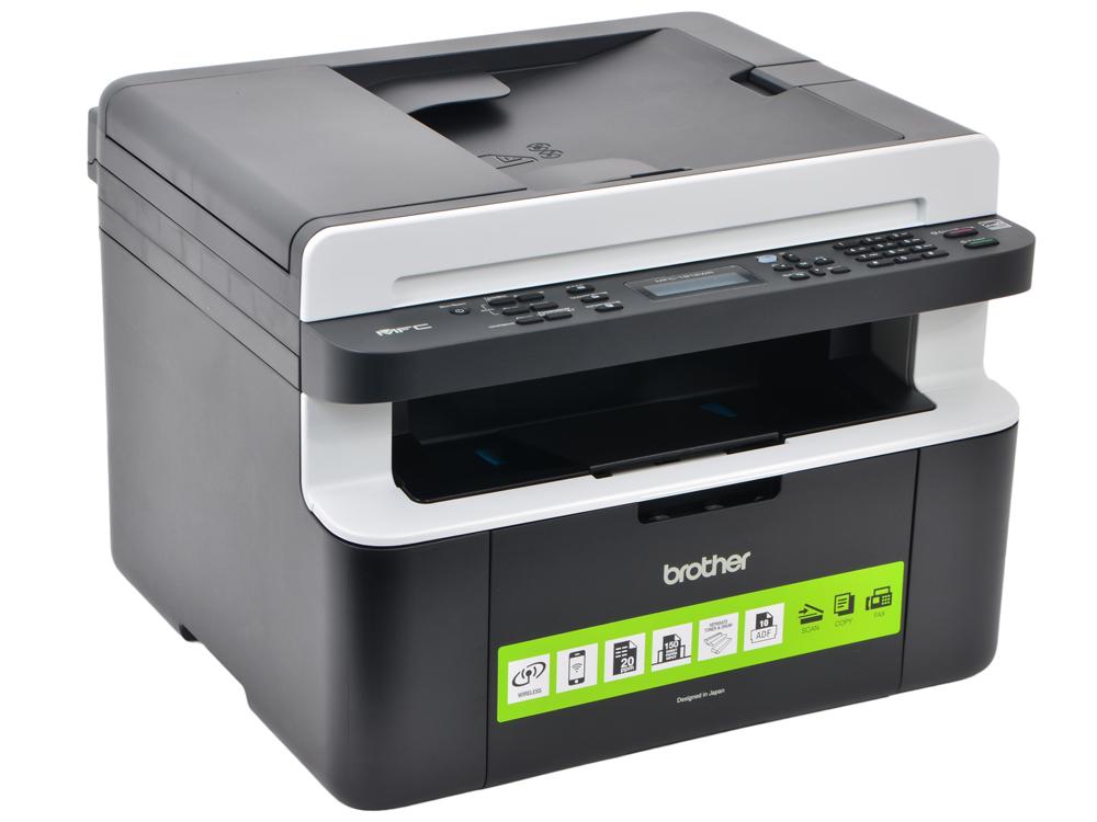 МФУ Brother MFC-1912WR A4, 20 стр/мин, 150 листов, Fax, USB, WiFi, 32MB мфу лазерный brother mfc l2700dnr mfcl2700dnr1 a4