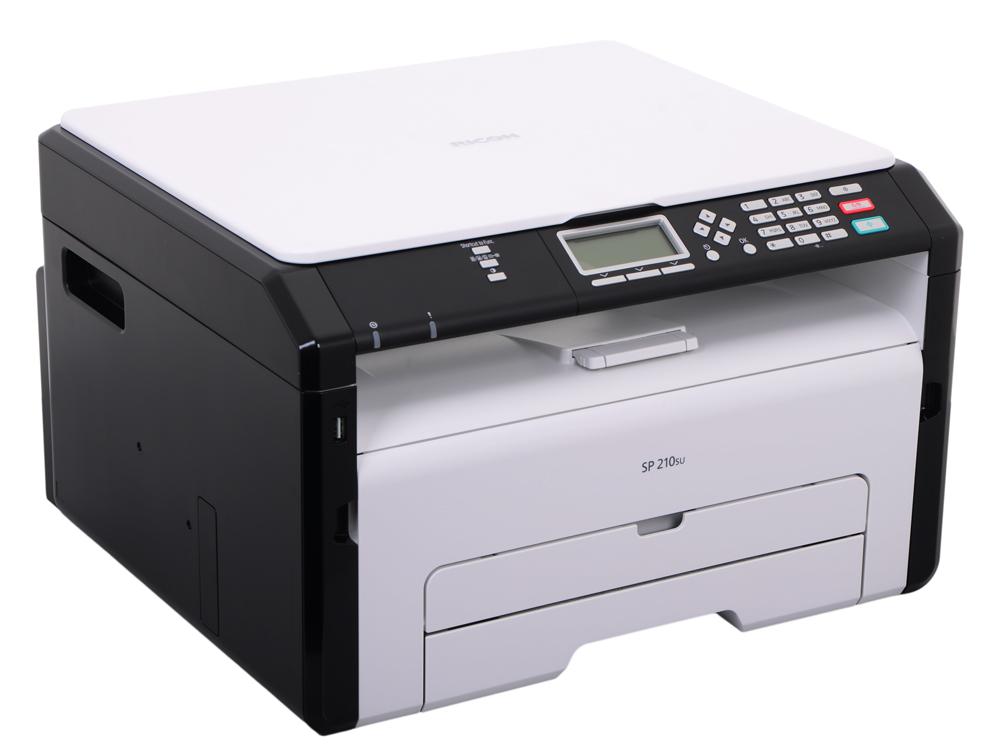 МФУ Ricoh SP 210SU (копир-принтер-сканер, 22стр./мин., 1200x600dpi, A4) 407676/407661
