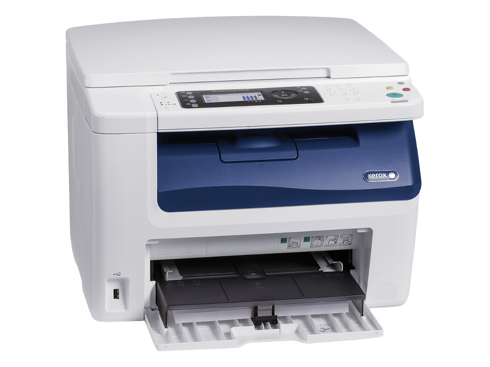 МФУ Xerox WorkCentre 6025BI A4, 12 стр/мин, 160 листов, Fax, USB, WiFi, 256MB