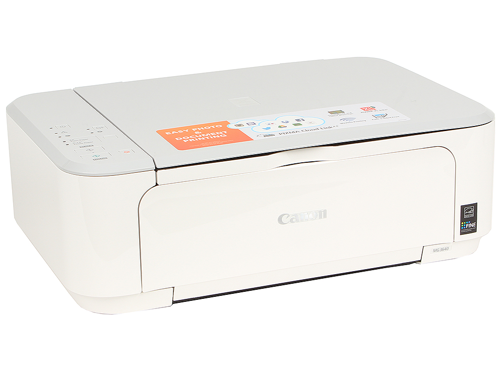МФУ Canon PIXMA MG3640 White canon pixma mp250 купить в минске