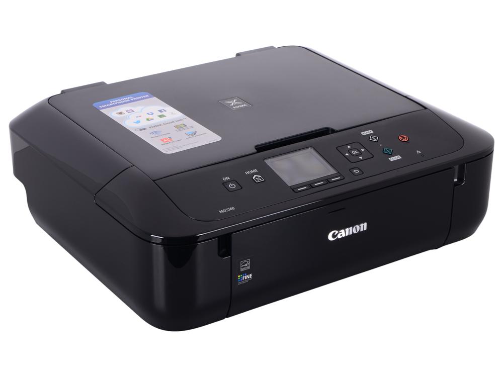 МФУ Canon PIXMA MG5740 Black (струйный, принтер, сканер, копир, 4800dpi, WiFi, AirPrint, duplex) замена MG5640