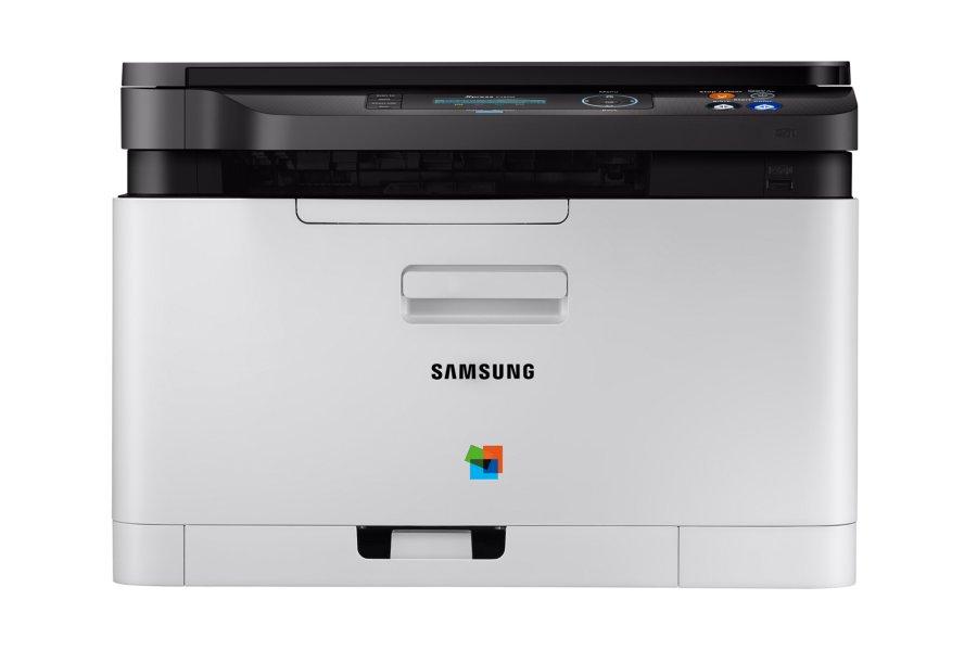МФУ Samsung SL-C480W цветное/лазерное A4, 14/18 стр/мин, 150 листов, USB, Wi-Fi, 128MB мфу pantum m6500w монохромное лазерное a4 22 стр мин 150 листов gdi usb wifi 128mb