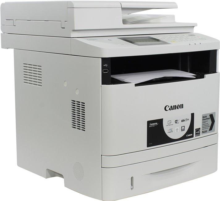 МФУ Canon I-SENSYS MF411DW (копир-принтер-сканер 33стр./мин., ADF, Duplex, LAN, Wi-Fi, A4, 3000стр./мес.) мфу canon i sensys colour mf735cx a4 цветной лазерный белый [1474c052]