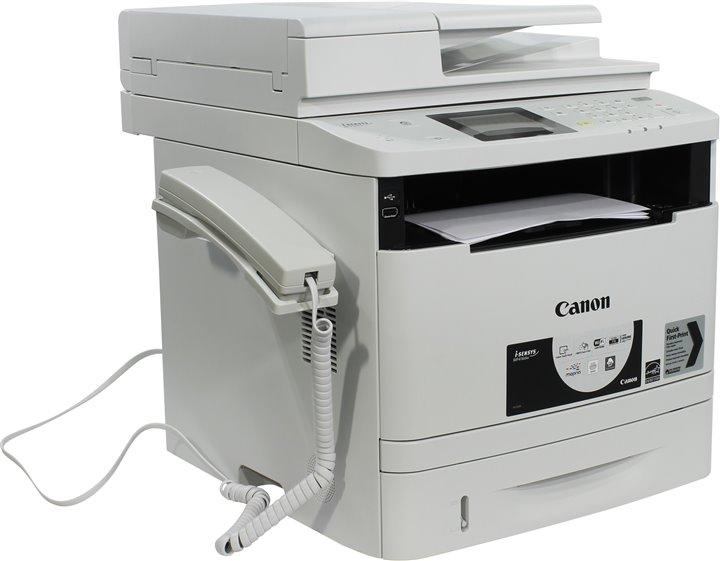 МФУ Canon I-SENSYS MF416DW (копир-принтер-сканер 33стр./мин., FAX, ADF, Duplex, LAN, Wi-Fi, A4, 3000стр./мес.) canon i sensys mf237w мфу