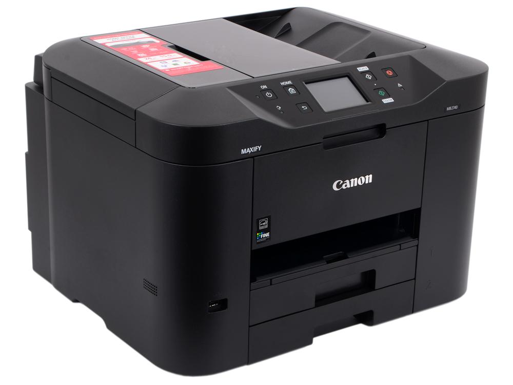 МФУ Canon MAXIFY MB2740 (струйный, принтер, сканер, копир, факс, DADF, Wi-Fi) мфу canon maxify mb2140