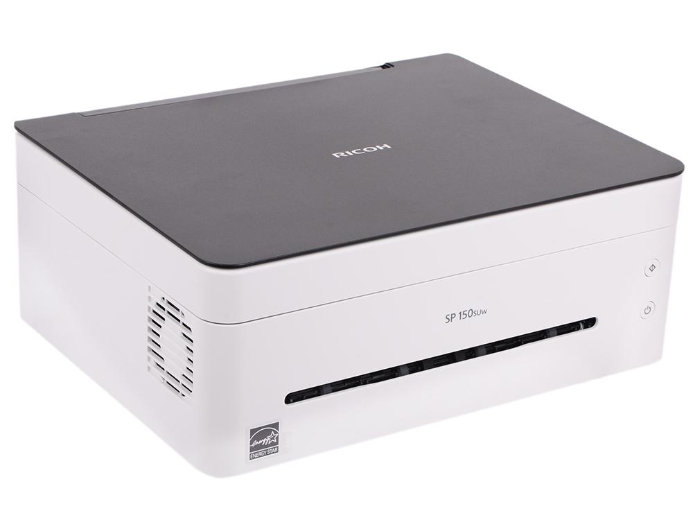 МФУ Ricoh SP 150SUw (копир-принтер-сканер, Wi-Fi, 22стр./мин., 600x600dpi, A4) цена 2017