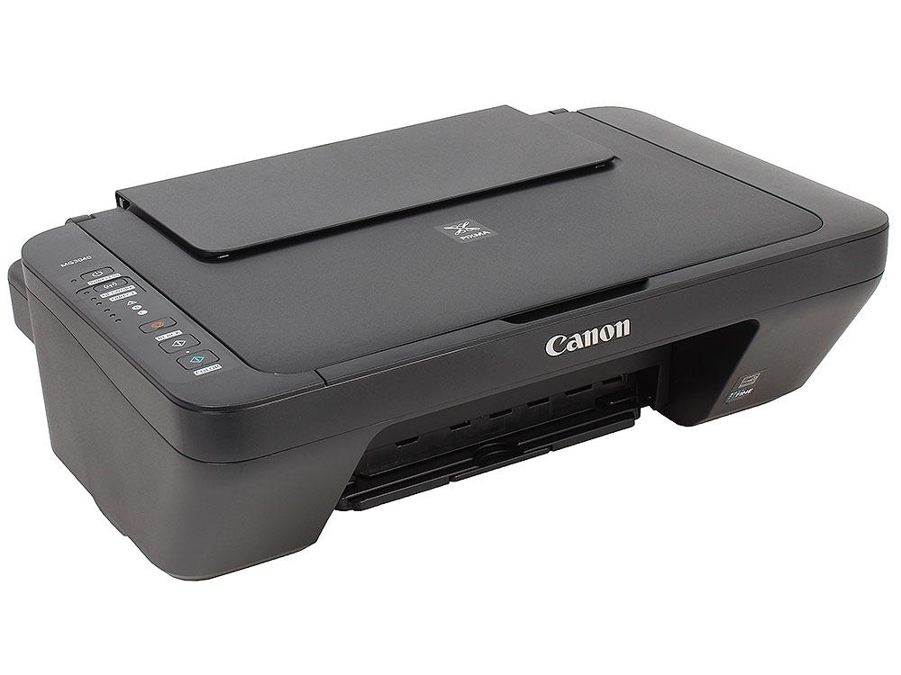 МФУ Canon PIXMA MG3040 black (струйный, принтер, сканер, копир, WiFi) сканер атол sb 1101 plus black c подставкой