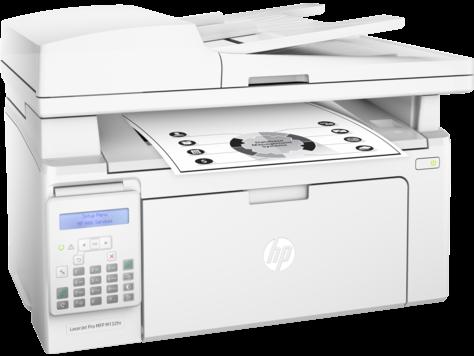 МФУ HP LaserJet Pro M132fn RU принтер/сканер/копир/факс, A4, ADF, 22 стр/мин, 256Мб, USB, LAN (замена CZ181A M127fn)