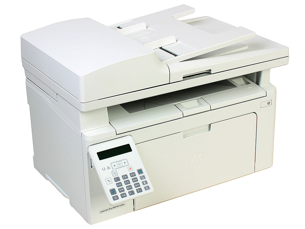 МФУ HP LaserJet Pro M132fn RU G3Q63A монохромное/лазерное A4, 22 стр/мин, 150 листов + 35 , Fax, USB, Ethernet, 256MB