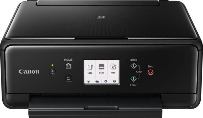МФУ Canon PIXMA TS6040 black (струйный, принтер, сканер, копир, 4800dpi, NFC, WiFi, AirPrint, duplex, Сенсорный дисплей) замена MG6840