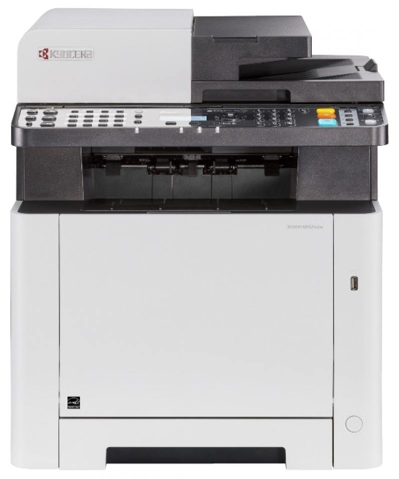 МФУ Kyocera M5521cdw А4, 21 стр/мин, 550 листов, duplex, ADF, USB, Ethernet, WiFi, 512MB