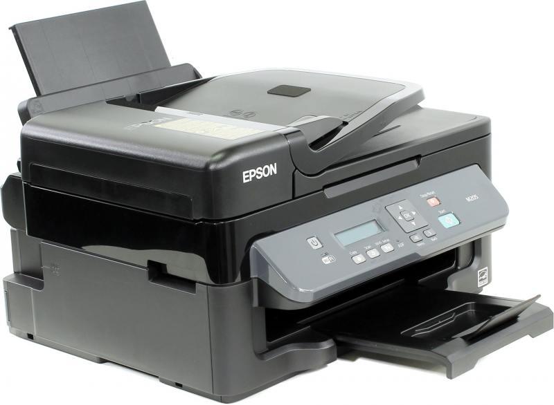 МФУ Epson M205 A4, 34 стр/мин, 100 листов, USB мфу фабрика печати epson m205 монохромный a4 34ppm 1440x720dpi usb c11cd07401