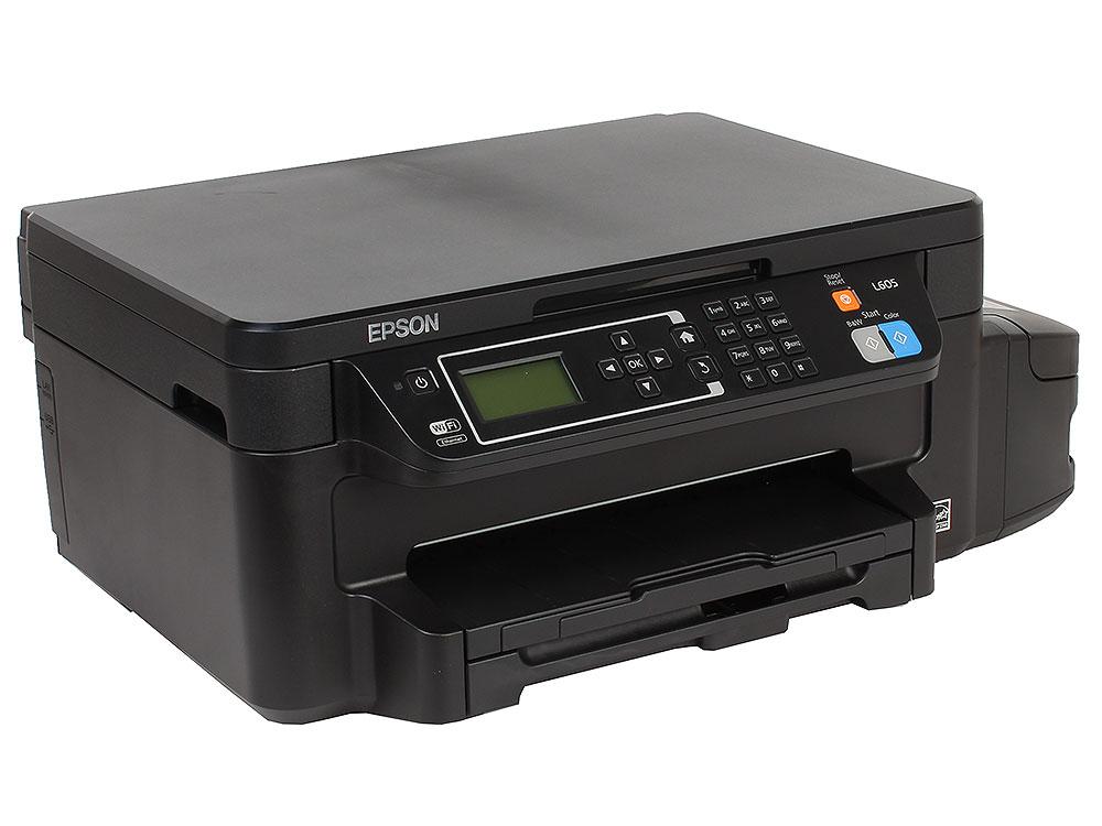 МФУ EPSON L605 (стр.+сканер/ копир duplex , Фабрика Печати) мфу epson l1455 c11cf49403