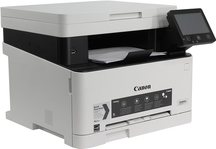 МФУ Canon i-SENSYS MF631Cn (копир-цветной принтер-сканер ADF, 1200x1200dpi, LAN, A4) мфу canon i sensys colour mf735cx a4 цветной лазерный белый [1474c052]