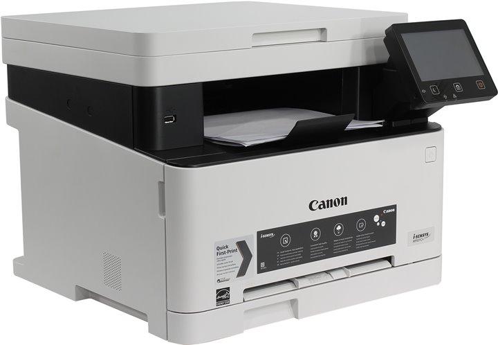 МФУ Canon i-SENSYS MF631Cn (копир-цветной принтер-сканер ADF, 1200x1200dpi, LAN, A4) canon i sensys mf237w мфу