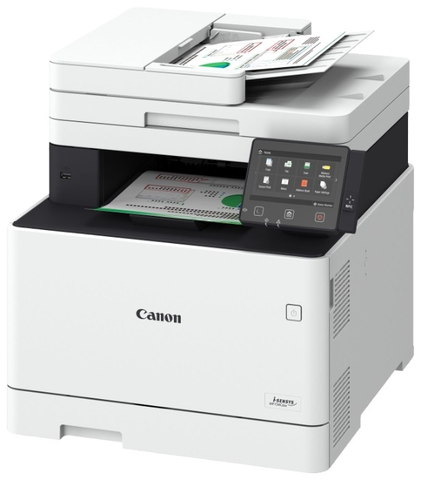 МФУ Canon i-SENSYS MF734Cdw A4, 27 стр/мин, 250 листов + 50 листов, Fax, USB, Ethernet, WiFi, 1GB мфу epson l3050 a4 33 стр мин 100 листов usb wifi