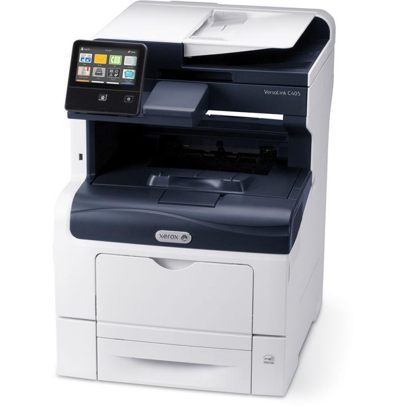 МФУ Xerox VersaLink C405DN цветное/лазерное A4, 35 стр/мин, 700 листов, duplex, Fax, USB, WiFi, Ethernet, 2048MB мфу canon i sensys mf734cdw a4 27 стр мин 250 листов 50 листов fax usb ethernet wifi 1gb