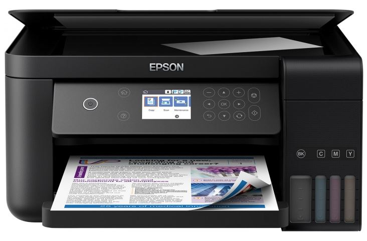 МФУ Epson L6160 C11CG21404 цветное/струйное A4, 33/15 стр/мин, 150 листов, duplex, СНПЧ, USB, Ethernet, WiFi снпч epson stylus sx525wd