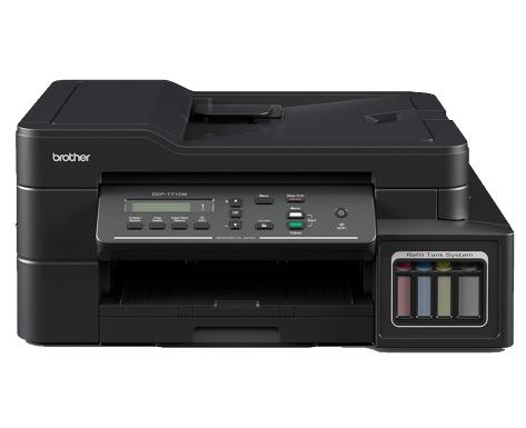 МФУ Brother DCP-T710W Ink Benefit Plus цветное/струйное А4, 12/6 изобр/мин, 170 листов, USB, WiFi, 128MB