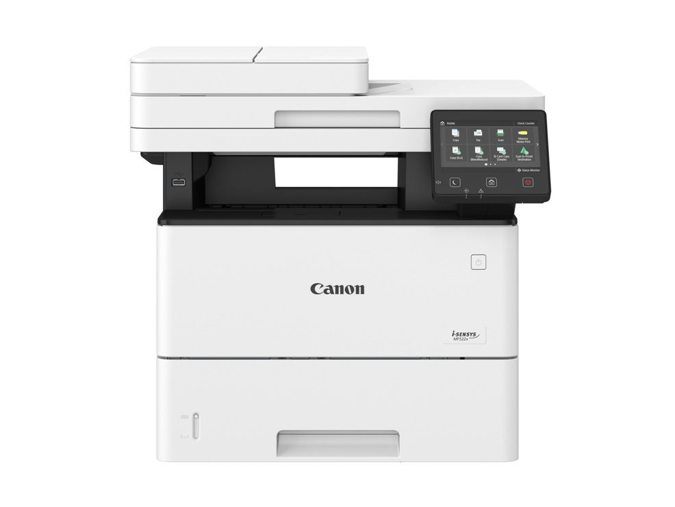 МФУ Canon I-SENSYS MF522x A4, 43 стр/мин, 550 листов, duplex, DADF, USB, Fax, Ethernet, WiFi, 1GB мфу epson l3050 a4 33 стр мин 100 листов usb wifi