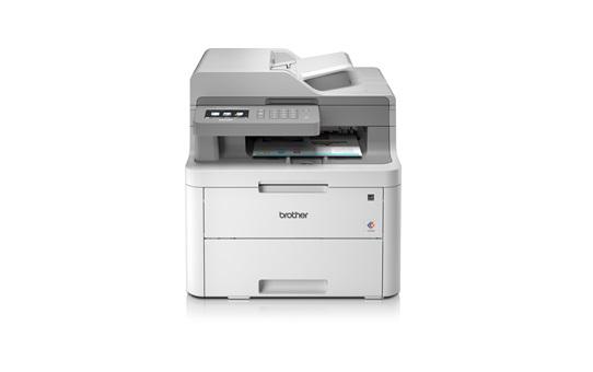 МФУ цветное светодиодное Brother DCP-L3550CDW принтер/ сканер/ копир, A4, 18стр/мин, дуплекс, ADF, 512Мб, USB, LAN, WiFi (замена DCP-9020CDW) мфу brother dcp 9020cdw