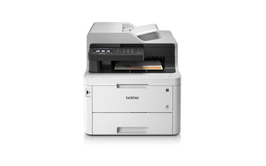 Картинка для МФУ цветное светодиодное Brother MFC-L3770CDW принтер/ сканер/ копир/ факс, A4, 24стр/мин, дуплекс, ADF, 512Мб, USB, LAN, WiFi (замена MFC-9330CDW)
