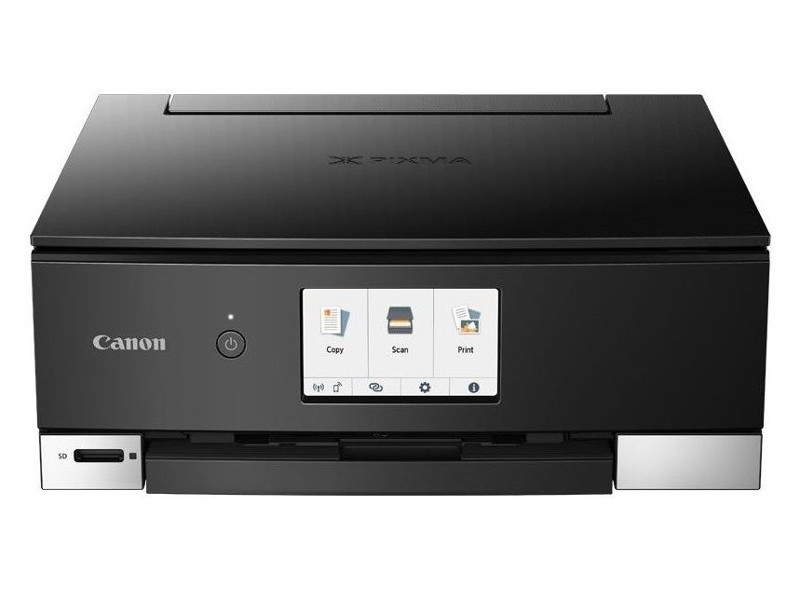 МФУ Canon PIXMA TS8240 цветное/струйное A4, 10/15 стр/мин, 100 листов, duplex, USB, Ethernet, Bluetooth, WiFi цена