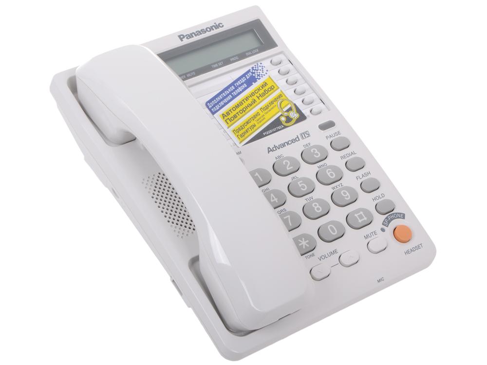 Телефон Panasonic KX-TS2365RUW ЖКИ, спикер, автодозвон, память 28 сотовый телефон archos sense 55dc 503438