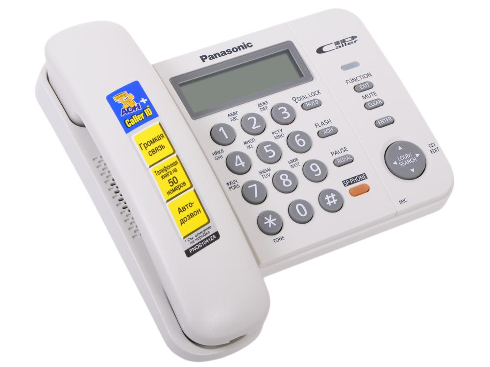 Телефон Panasonic KX-TS2358RUW