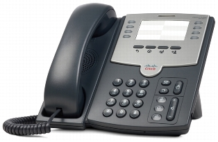 Телефон CISCO SPA501G Телефон 8 Line IP Phone With PoE and PC Port