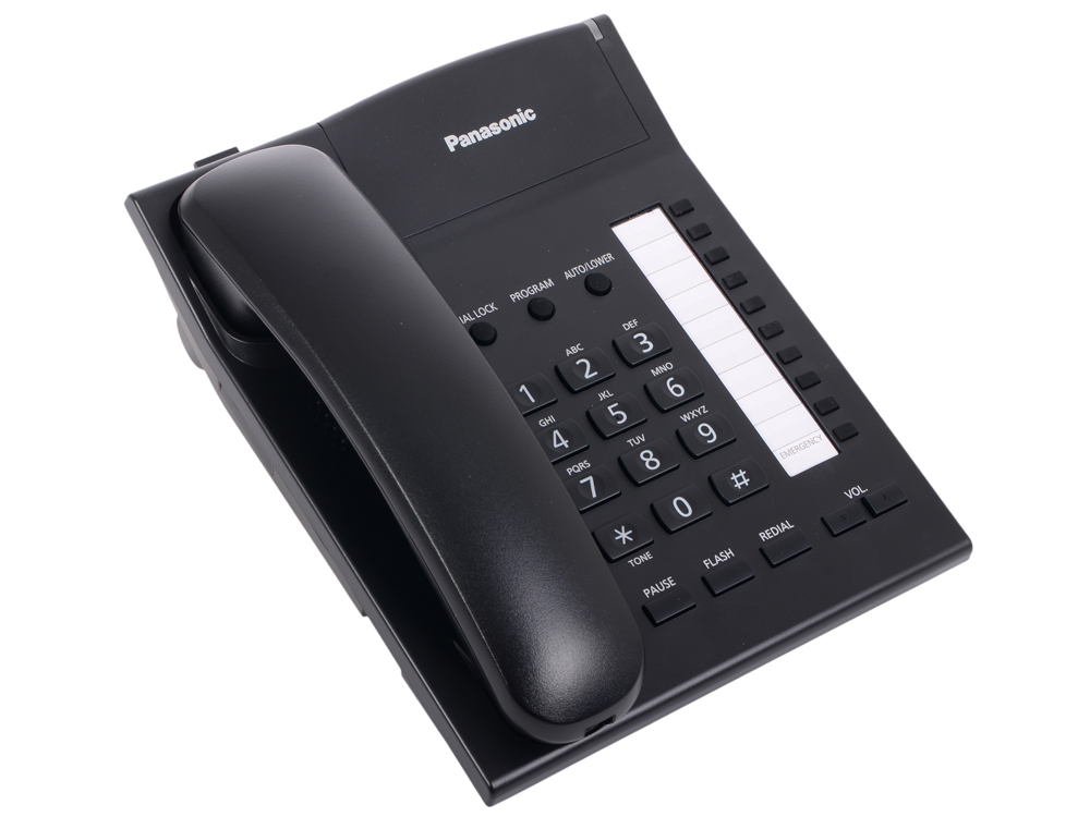 Телефон Panasonic KX-TS2382RUB Спикер, память 20 panasonic kx tgb210 rub