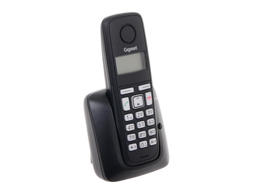 Телефон Gigaset А120A Black (DECT, автоответчик) телефон gigaset c530a