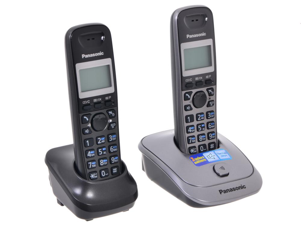 Телефон DECT Panasonic KX-TG2512RU1 цена