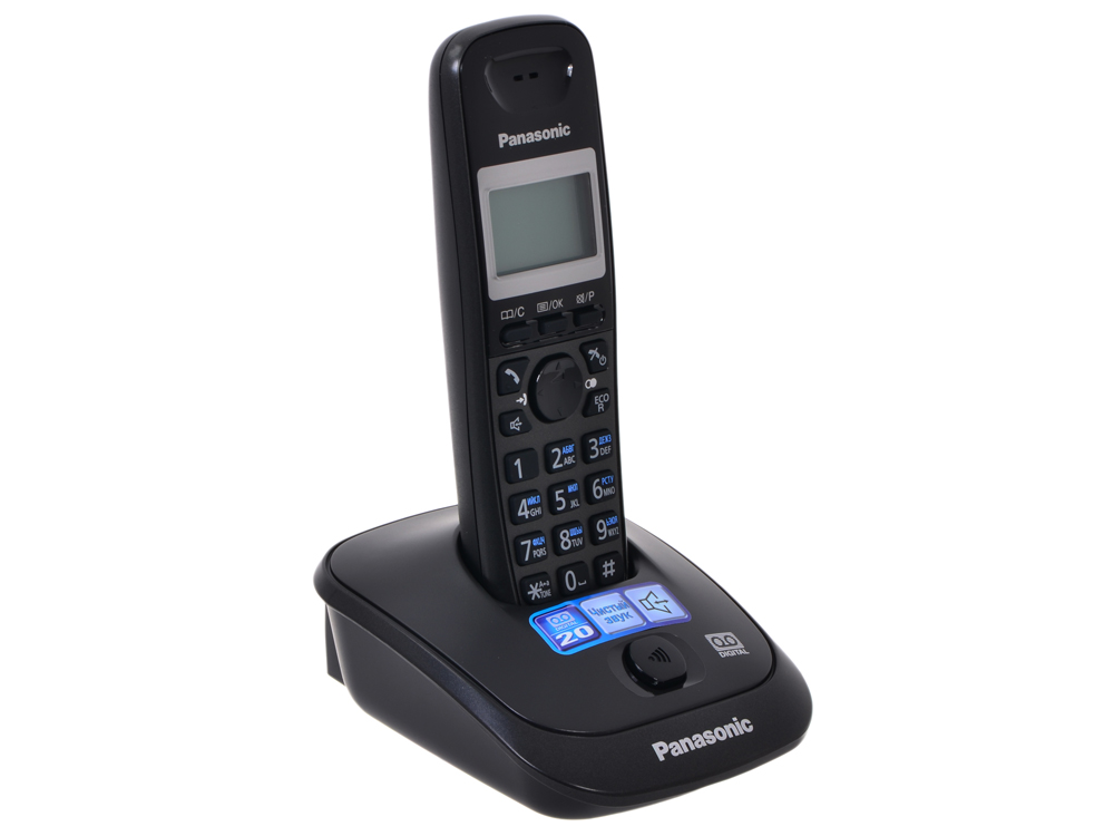 Телефон DECT Panasonic KX-TG2521RUT автоответчик телефон panasonic kx dt546rub черный