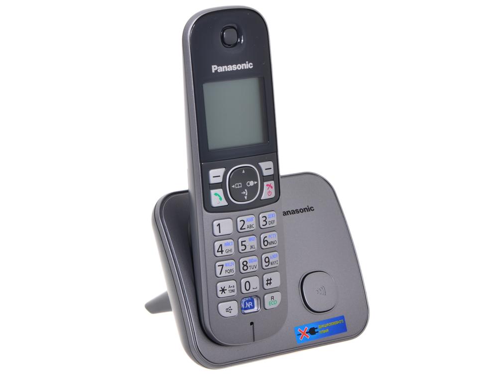 Телефон DECT Panasonic KX-TG6811RUM Функция радио-няня (доступна при наличии второй и более трубок) телефон panasonic kx dt546rub черный