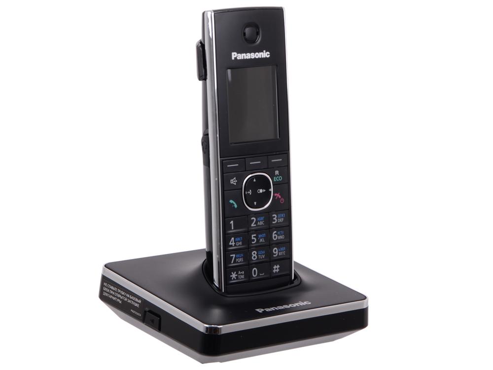 Телефон DECT Panasonic KX-TG8551RUB АОН, Color TFT, Caller ID 50, Спикерфон, Эко-режим, Радионяня, SMS, Память 350