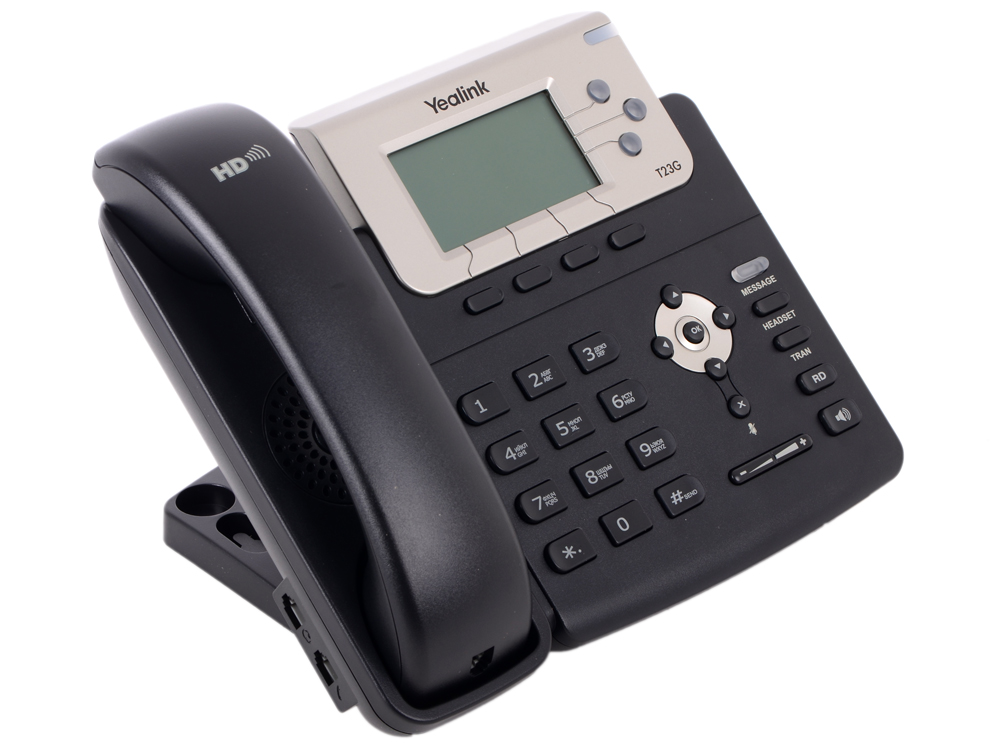 Телефон VoIP Yealink SIP-T23G SIP-телефон, 3 линии, PoE, GigE practical voip security