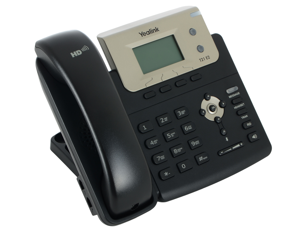 Телефон VoIP Yealink SIP-T21 E2 SIP-телефон, 2 линии practical voip security