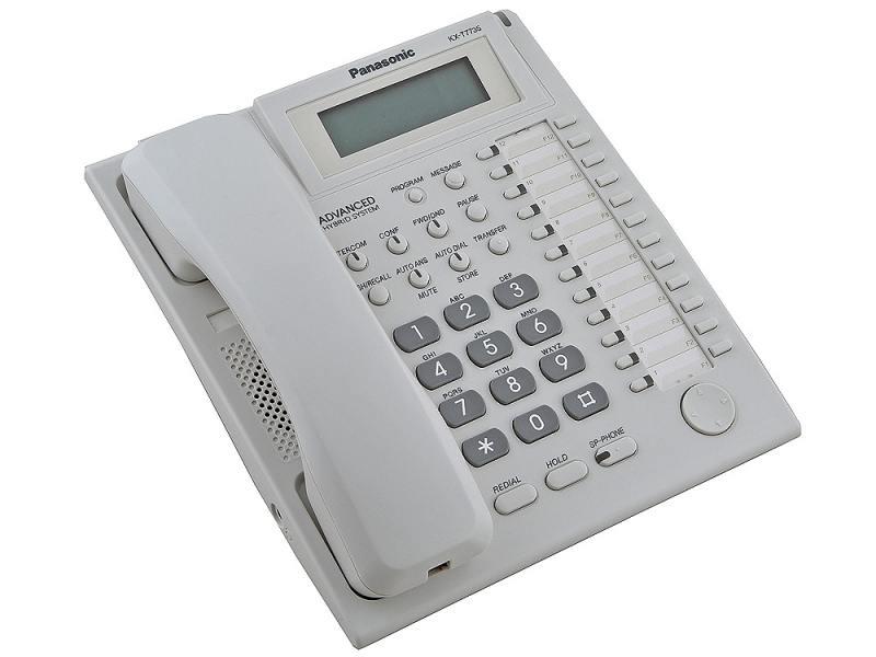 Системный телефон Panasonic KX-T7735RU системный телефон panasonic kx nt511aruw